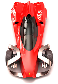Ferrari Zobin project - Car Body Design