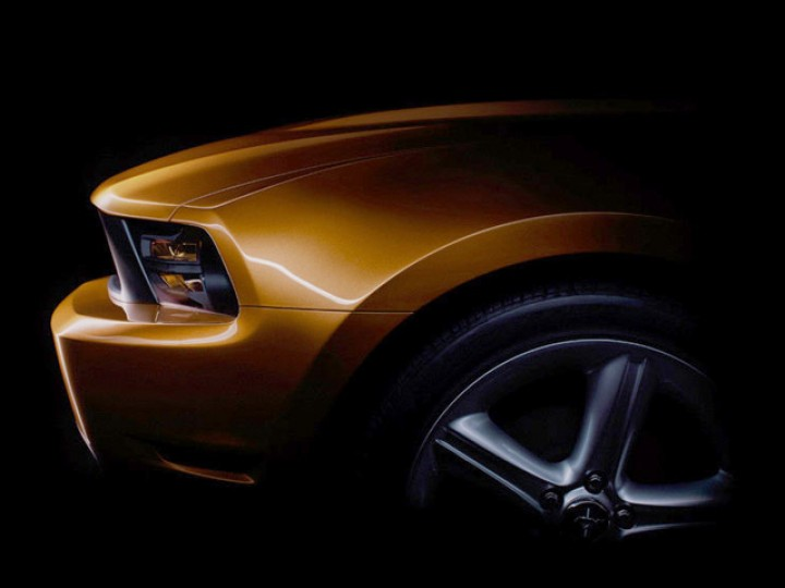 Ford Mustang 2010 preview