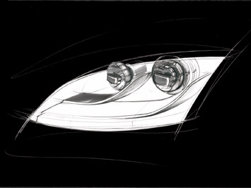 Audi: light and design