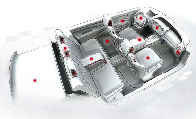 faurecia premium attitude interior design sketch car body design. Black Bedroom Furniture Sets. Home Design Ideas