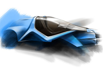 BMW LayerON Design Sketch