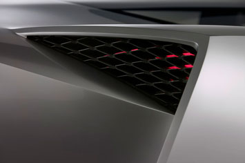 Corvette Stingray Concept Tail Light
