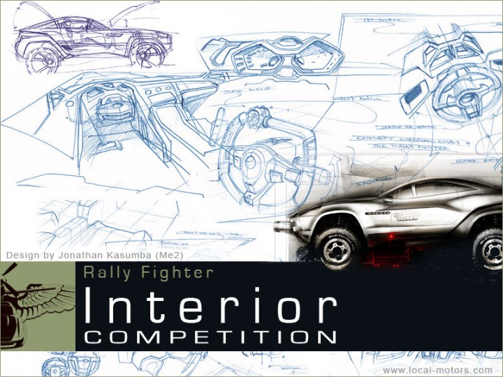 Rally Fighter Interior Design Competition Car Body Design