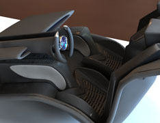 Audi Shark Interior