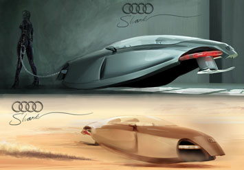 Audi Shark Sketch By Kazim Doku