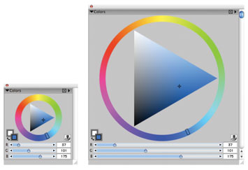 Corel Painter 11 Color Palette