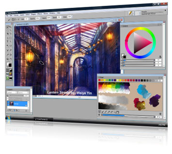 Corel Painter 11 Screenshot