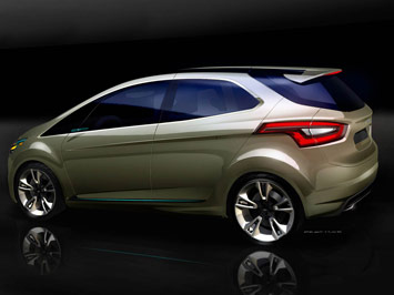 The Ford iosis MAX Concept is a dynamic compact MAV that provides a