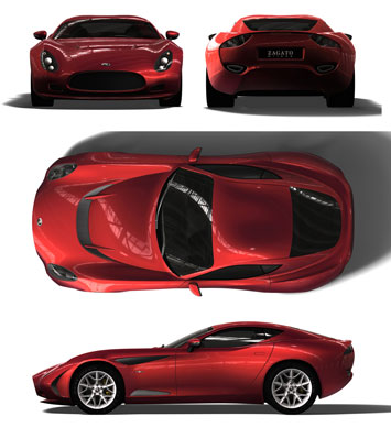 Zagato Perana Z One 4 Views