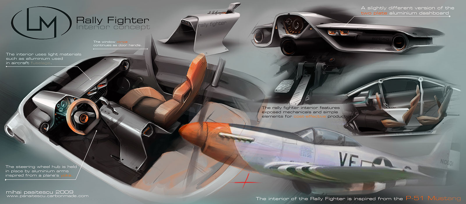 Rally fighter interior design competition the winners - Car interior design ...