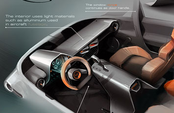 rally fighter interior design competition the winners car body design. Black Bedroom Furniture Sets. Home Design Ideas