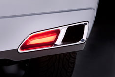Acura ZDX Concept Exhaust Outlet