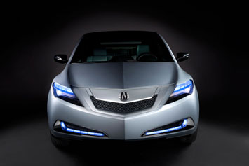 Acura ZDX Concept Front