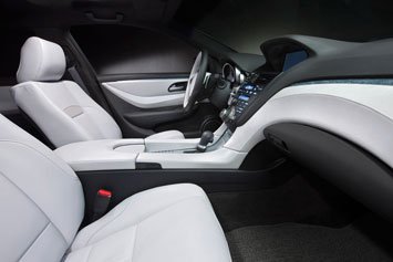Acura ZDX Concept Interior