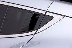Acura ZDX Concept Rear Door Handle