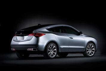 Acura ZDX Concept Rear