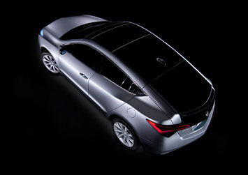 Acura ZDX Concept Top View