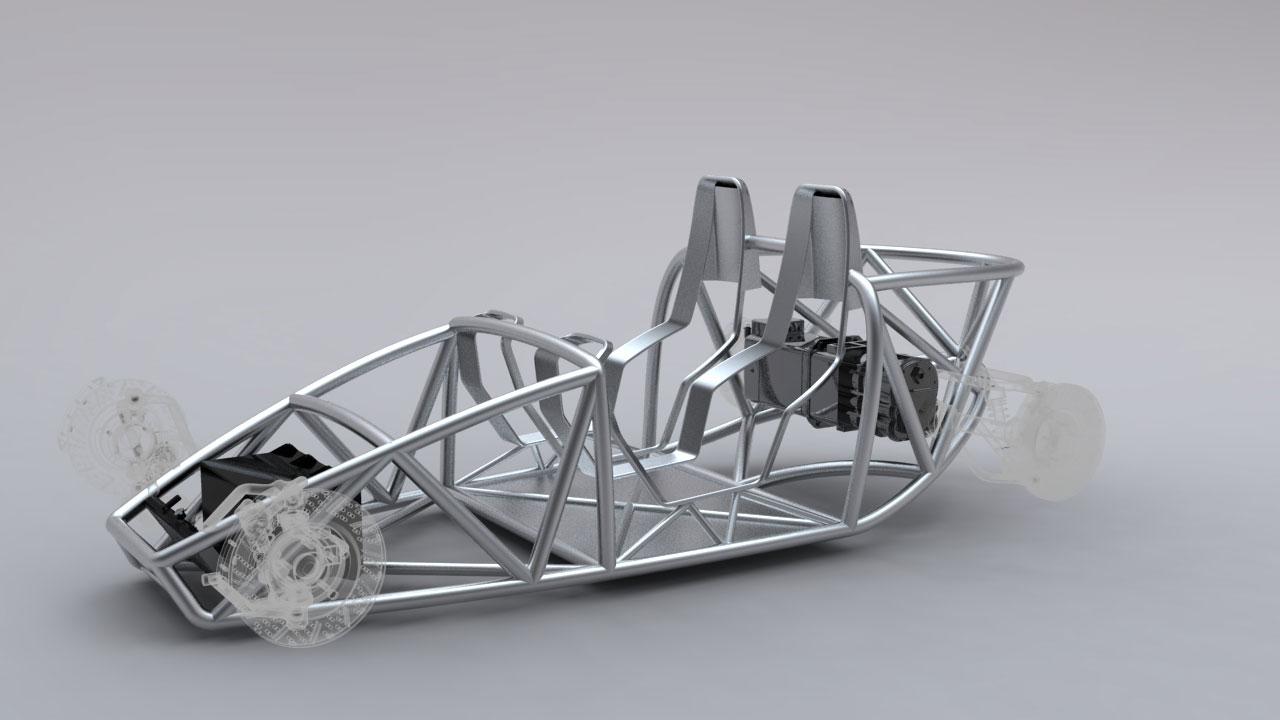 Sunbeam Tiger Concept Tubular Chassis Car Body Design