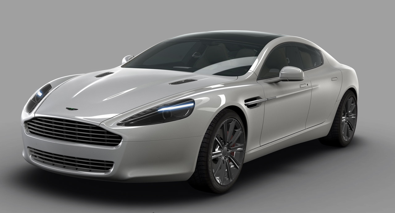 Aston Martin Rapide sports car