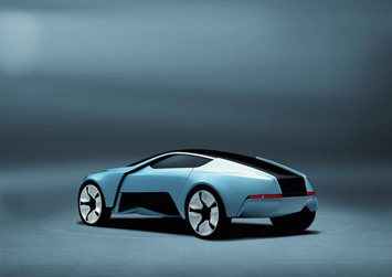 Audi Concept Model By Niels Steinhoff