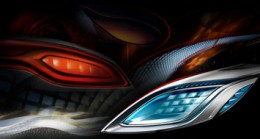Buick Business Concept Headlights Design Sketch