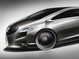 Buick Business Concept Design Sketch