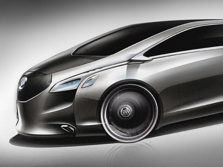 Buick Business Concept Car Body Design