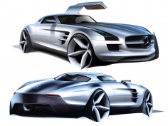 Mercedes-Benz SLS AMG preview