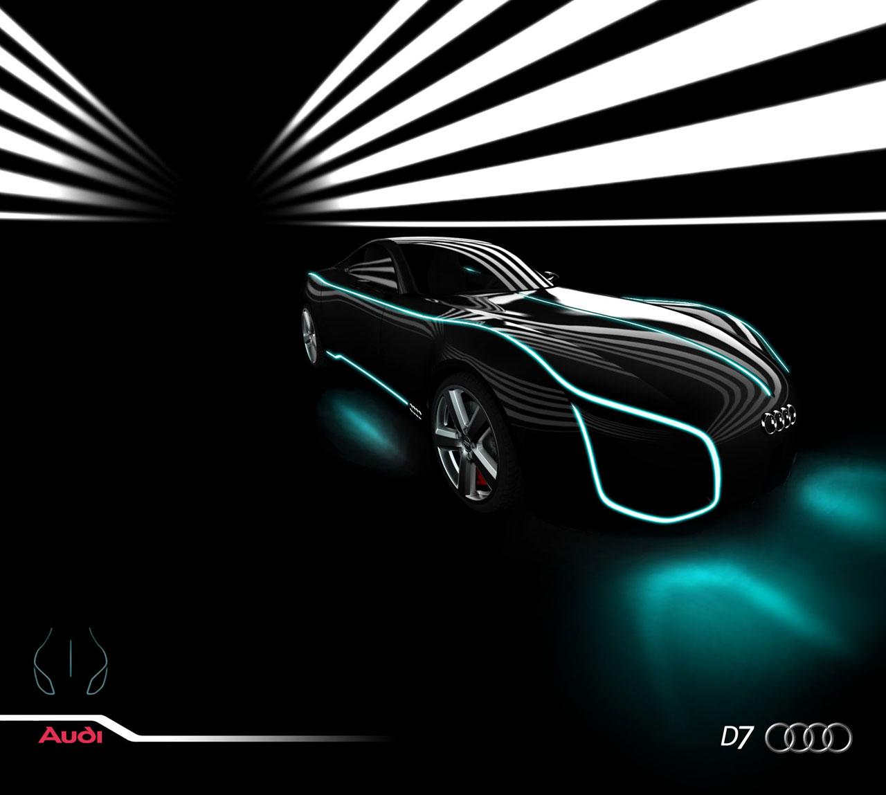 Audi D7 car concept
