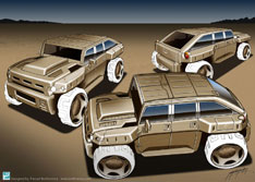 Hummer Design by Farzad Barkhordary