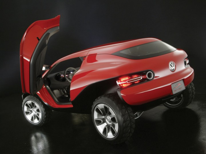 Volkswagen Concept T 2004 Page 4 Car Body Design