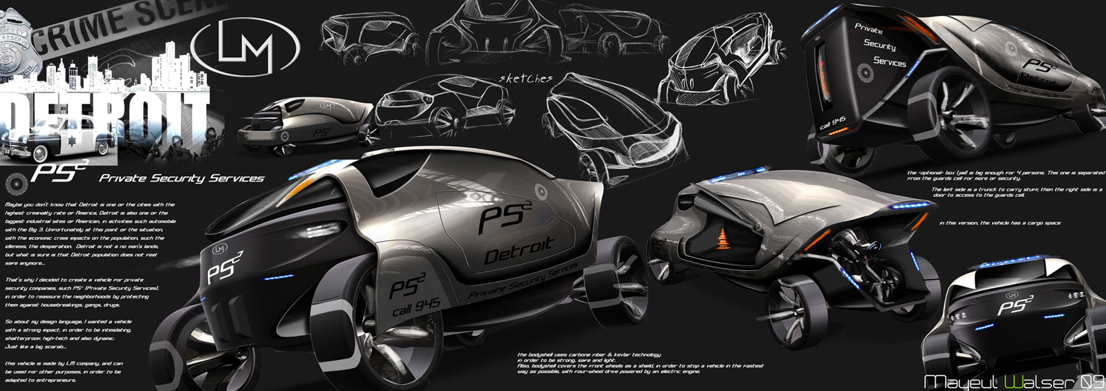 Detroit motors competition the winners car body design for Motor city towing detroit michigan
