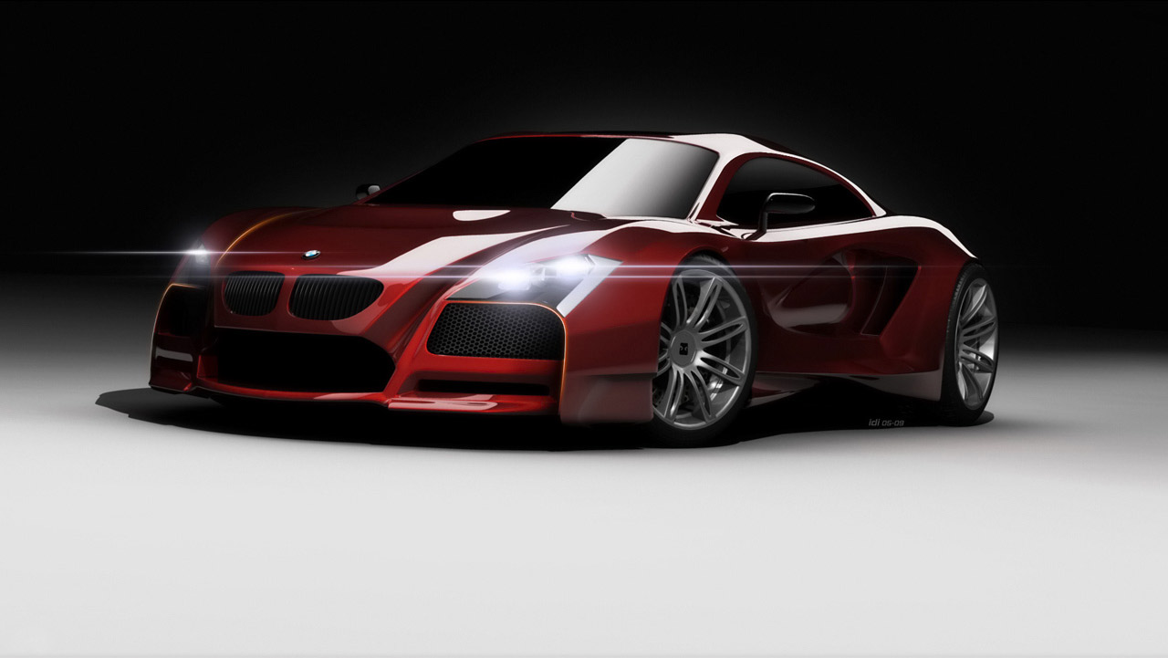 Bmw M Concept red