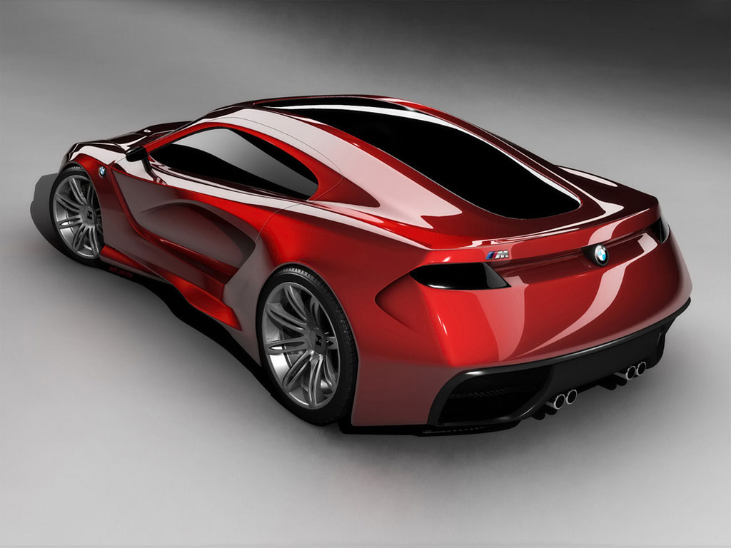 BMW M Concept rear view