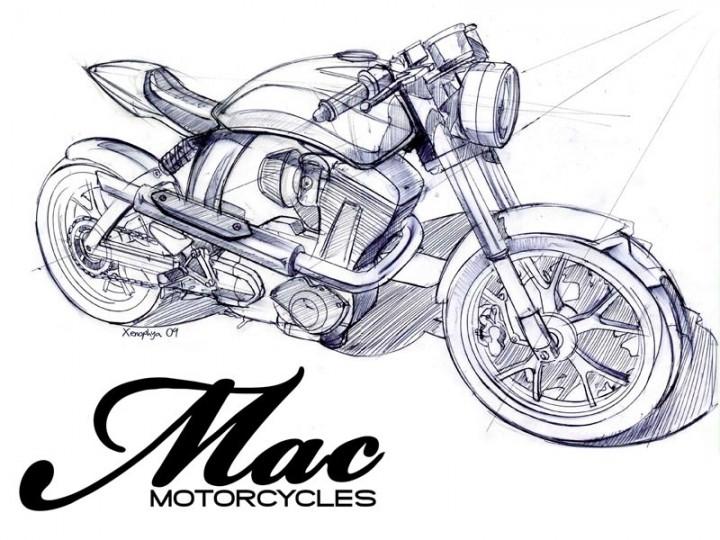 Mac Motorcycles - Car Body Design