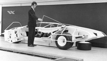 Vauxhall Chief Designer Wayne Cherry