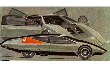 Vauxhall SRV Concept Sketch