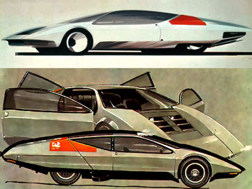 Vauxhall historic concepts at Goodwood - Image Gallery