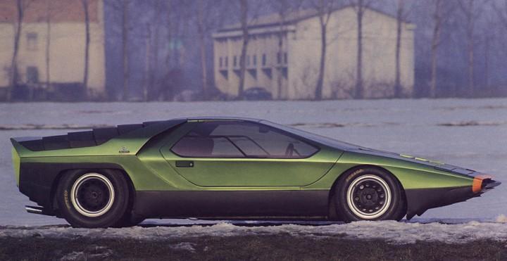 bertone carabo concept 1968 car body design