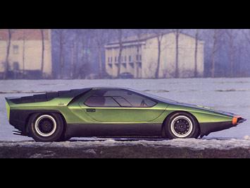 Bertone Carabo Concept (1968) - Car Body Design