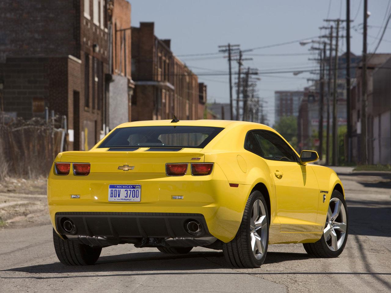 Chevrolet Camaro Transformers Design