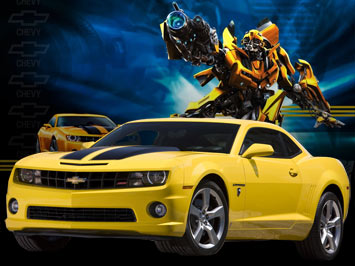 Camaro Yellow on Chevrolet Has Unveiled The 2010 Camaro Transformers Special Edition