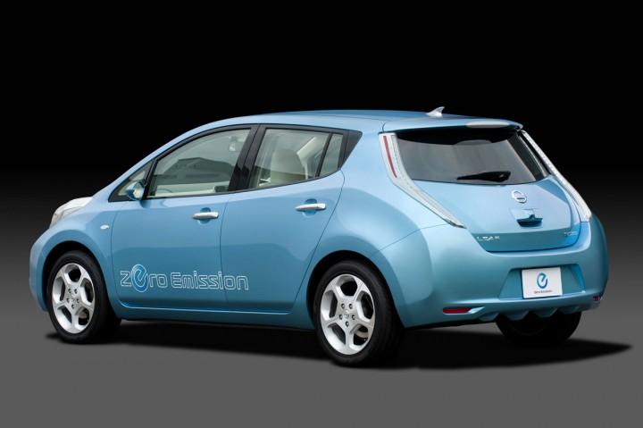 Nissan Leaf Car Body Design