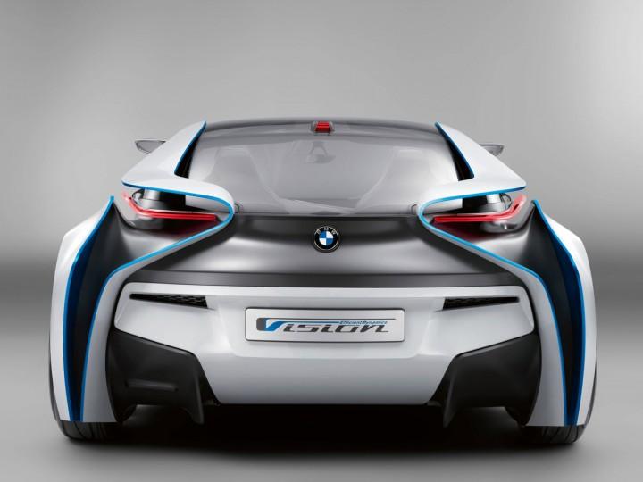 BMW Vision EfficientDynamics Concept - Car Body Design