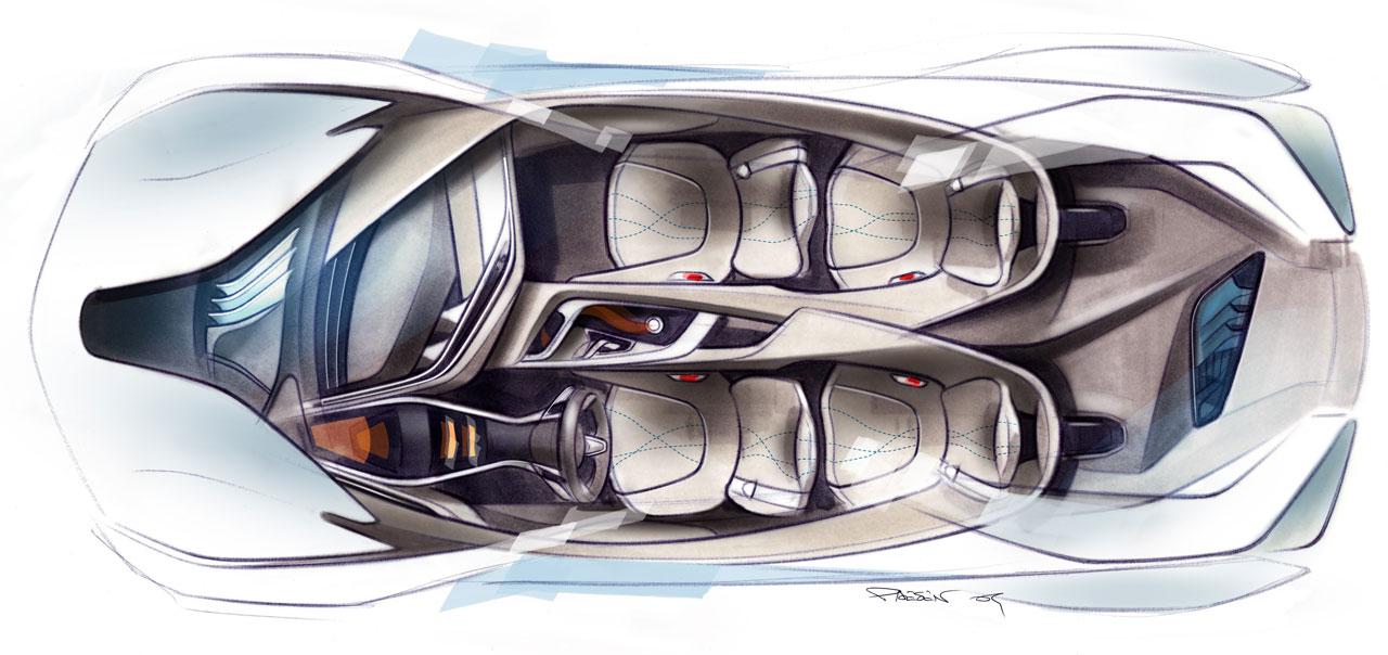 Bmw Vision Efficientdynamics Concept Interior - intellego