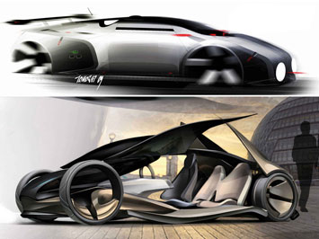 Aston Martin on The Brief Was To Create An Aston Martin Concept Car For The Year 2025