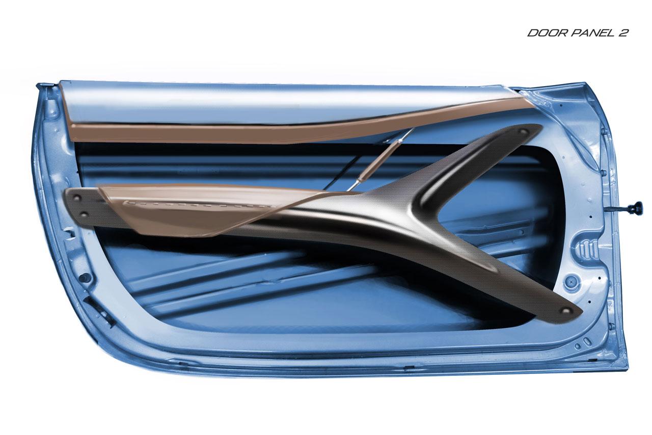 Mazda mx 5 superlight version concept car body design for Carbon interieur
