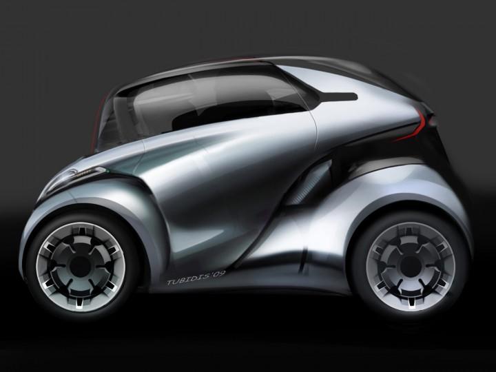 Peugeot Bb1 Concept Car Body Design