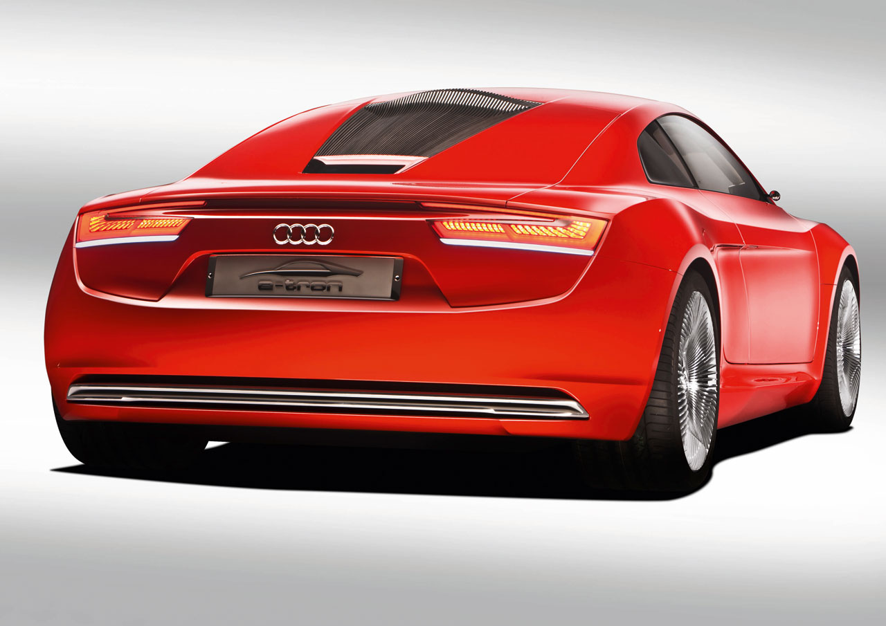Audi e-tron Concept - Car Body Design