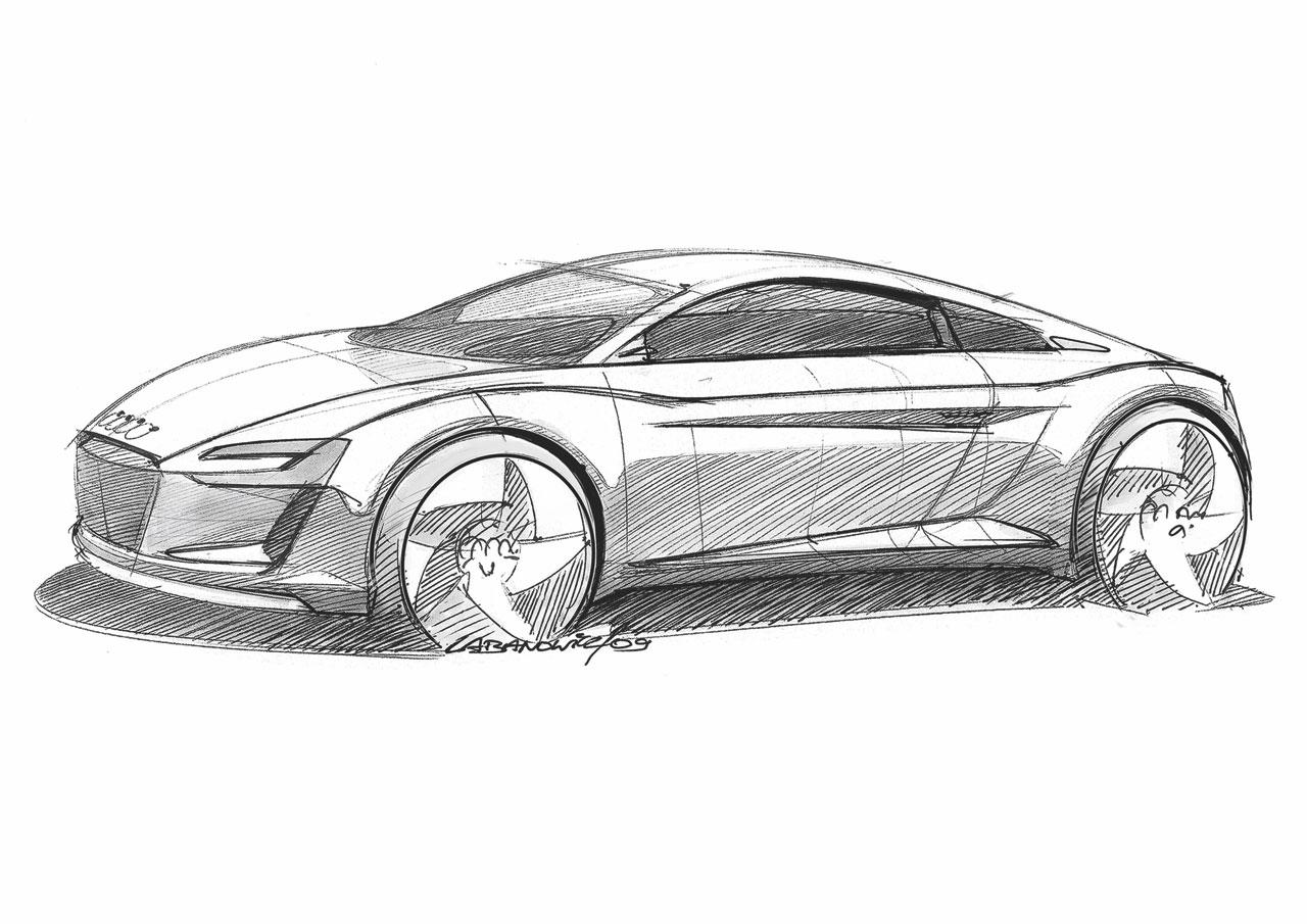 Audi Etron Concept The Design Car Body Design - Audi car design